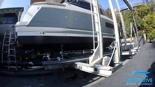 Vinyl Boat Wrap in 3M Battleship Grey of Jeanneau NC9