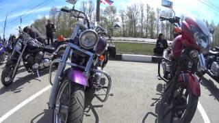 Открытие мотосезона  Ульяновск 30.04.16. Часть  1.