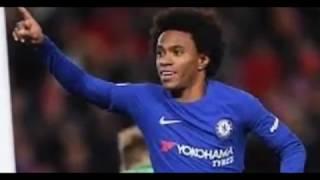 Willian GOAL Brighton 0-2 Chelsea