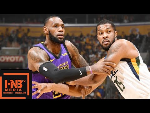 Los Angeles Lakers vs Utah Jazz Full Game Highlights | 11.23.2018, NBA Season