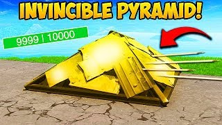 *EPIC* SUPER OP PYRAMID TRICK! - Fortnite Funny Fails and WTF Moments! #381