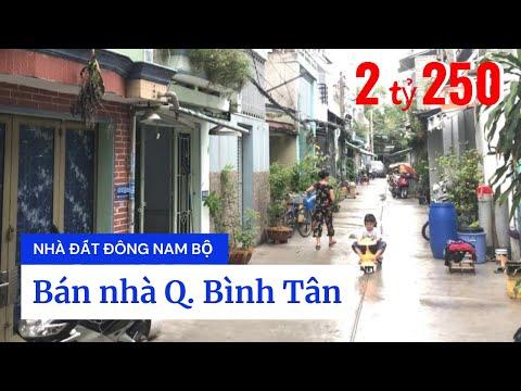 Video nhà bán quận Bình Tân dưới 3 tỷ, hẻm 5m đường Chiến Lược, Bình Trị Đông A, gần chung cư Saigon Homes