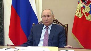Борьба с коронавирусом стала одной из главных темой совещания Владимира Путина с правительством