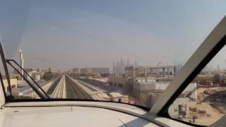 Tram Ride at the palm Jumeirah going to Atlantis Dubai