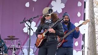 """""""Straight Cold Player"""" Mary eL  @National Cherry Blossom Festival, Tidal Basin, DC 3-27-18"""