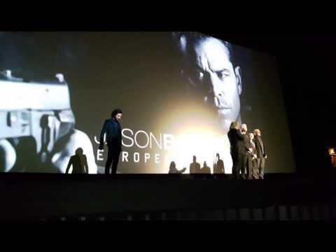 Jason Bourne European Premiere Odeon Leicester Square London UK