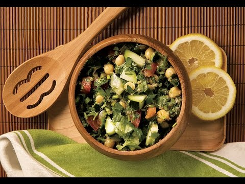 Gluten-Free Tabbouleh Salad with Amaranth by NOW Foods