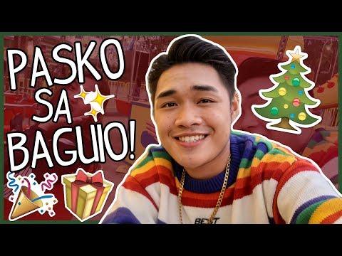 PASKO SA BAGUIO! (christmas celebration w/ fam) Ft. Karen Aquino | Cedrix Eligio
