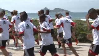 Ligeon geniet van Rio