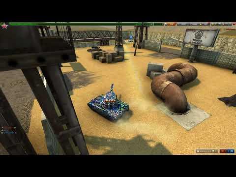 Tanki Online Gameplay -3 Xp/bp.Epic Game (5-0) - 4k Quality
