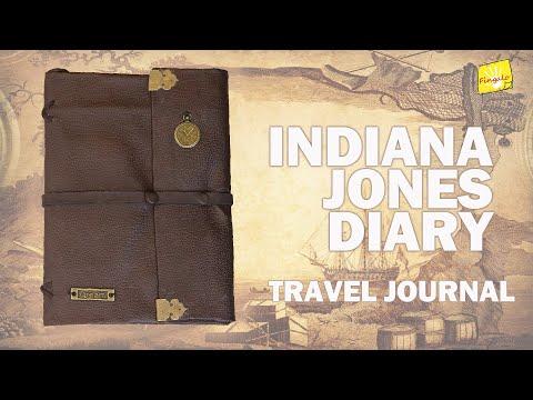 Travel Journal DIY | Indiana Jones Diary | Ancient Journal