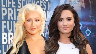 Christina Aguilera and Demi Lovato Team Up for Empowering New Duet 'Fall in Line' MP3