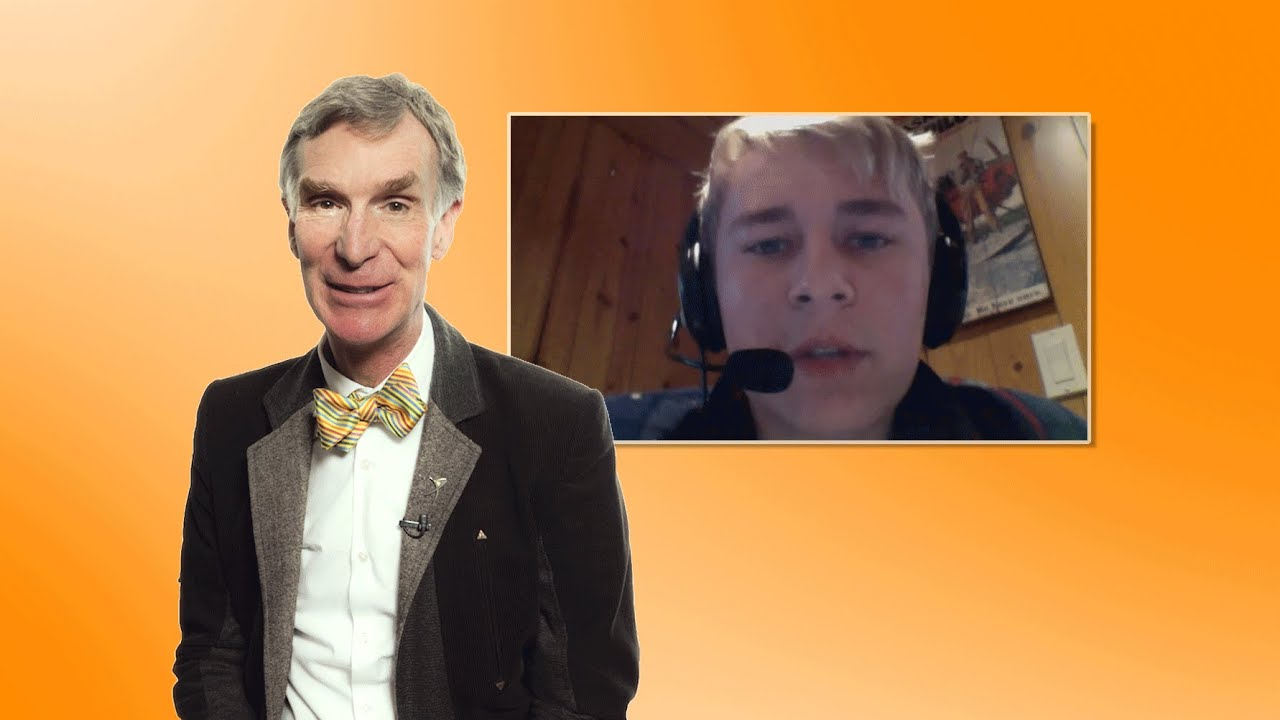 We asked Bill Nye about his plan to save Earth from civilization-ending asteroids