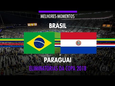 Highlights - Brazil 3 vs 0 Paraguay - 2018 Fifa World Cup Qualifiers - 03/28/2017