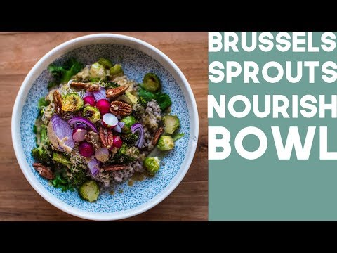 Chicken and Wild Grain Bowl With The city Sprouts