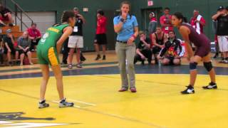 2014 Indigenous Games: 56 kg Exhibition Lucy Kicl (NL) vs. Tiandra Wolverine (SK)