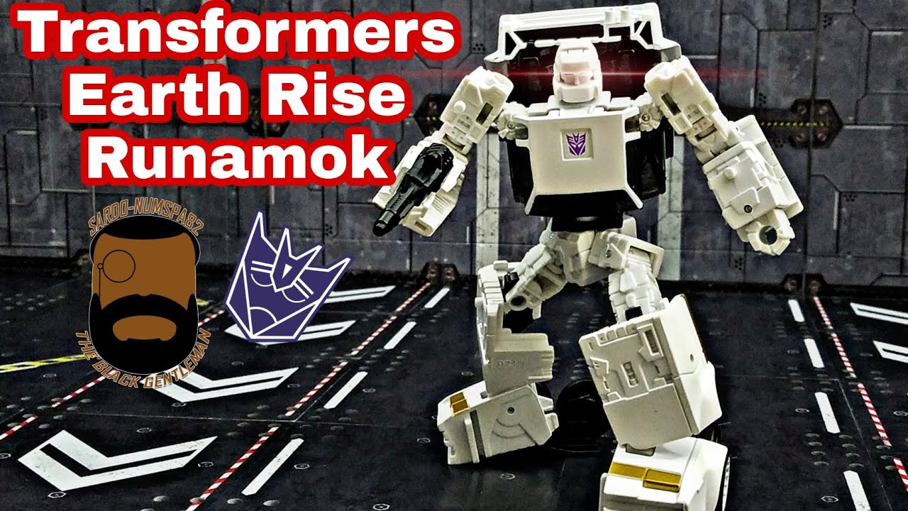 Transformers Earthrise Runamuk Review by Sardo-numspa82