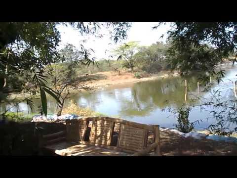 San Jose Del Monte Philippines Organic Farm part 2 of 3 Floating Nipa Hut