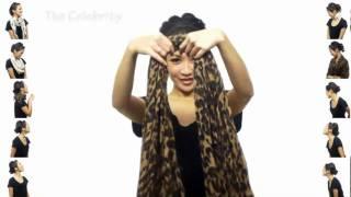 25 способів зав'язати шарф(хустку)
