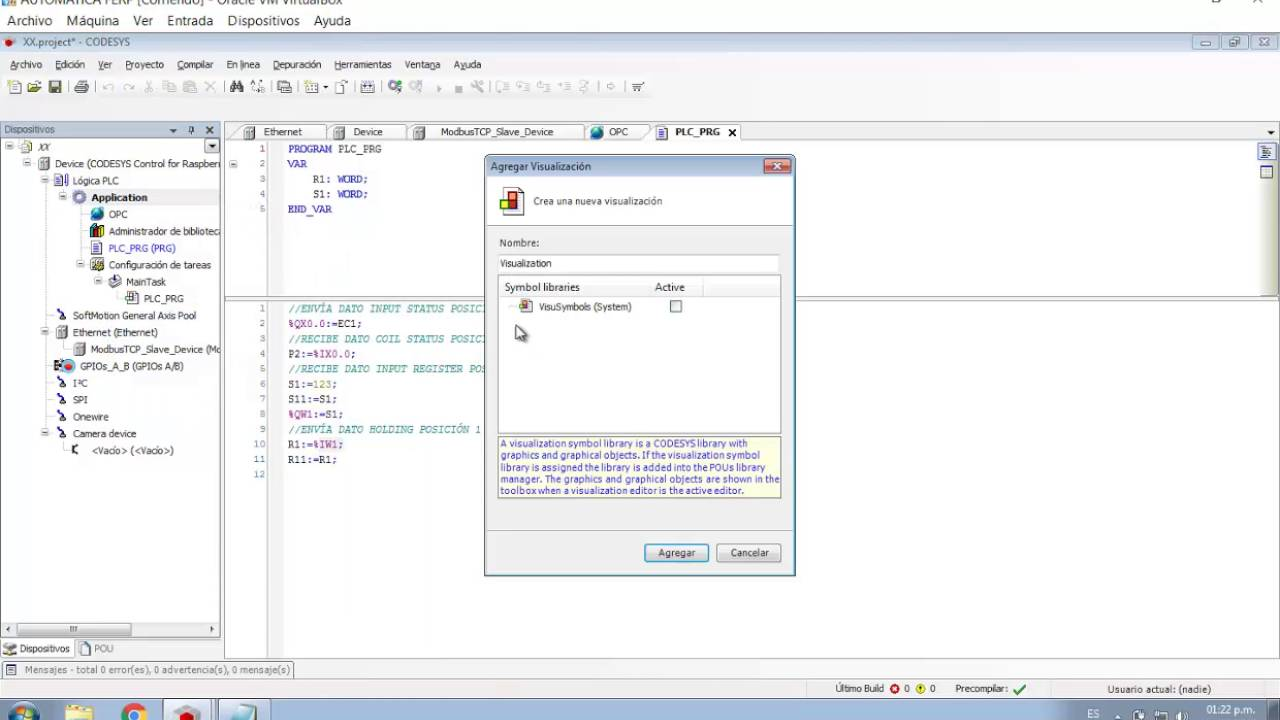 Codesys modbus tcp example