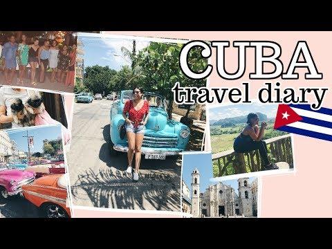 CUBA TRAVEL VLOG   Havana & Viñales