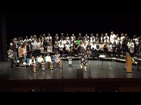 W.A. Carter School 2018 Winter Choral Concert