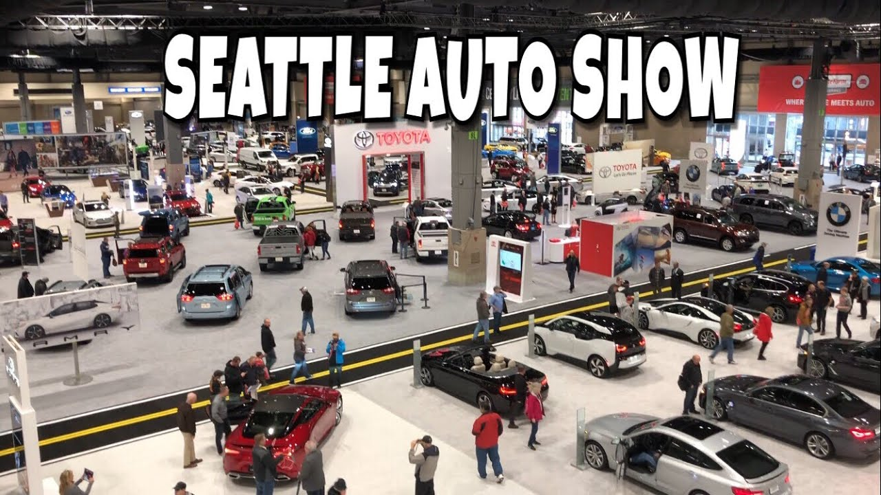 Seattle International Auto Show YouTube - Seattle car show