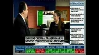 Roberto De La Mora en entrevista para El Financiero de Bloomberg
