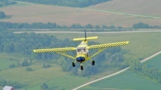 Cross country flight - Zenith STOL CH 750 light sport utility aircraft - Sebring 2012 trip