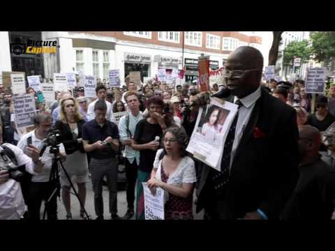 Justice for Grenfell Protest, London, UK