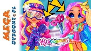 HAIRDORABLES seria 3  laleczki z długimi kolorowymi włosami