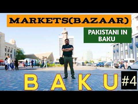 Baku famous Bazaar (markets) |Yasil, Taza, Sadarak bazaar| Azerbaijan travel vlog