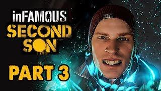 inFamous: Second Son Walkthrough Part 3 - Hover Power (PS4 1080p Commentary)