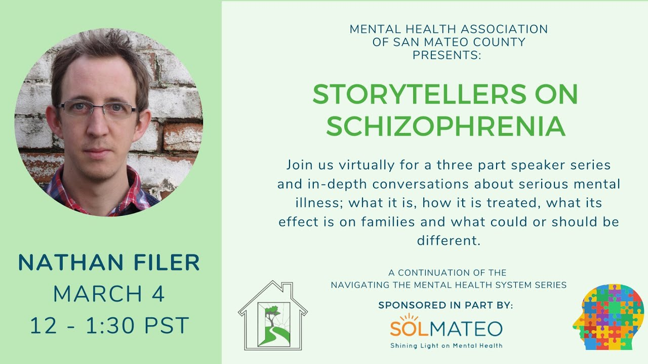 Storytellers on Schizophrenia - Part one of a three-part speaker series features Nathan Filer.