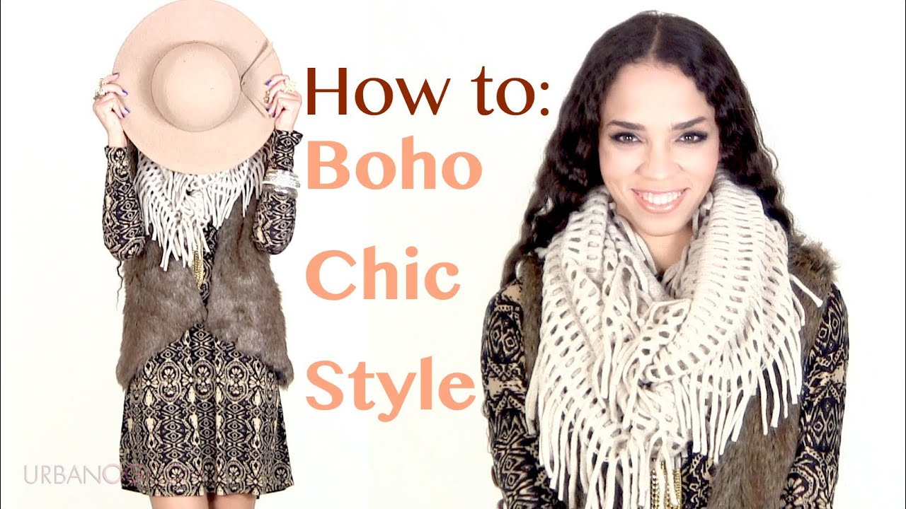 fall winter fashion tips boho chic outfit ideas bohemian style outfits youtube. Black Bedroom Furniture Sets. Home Design Ideas