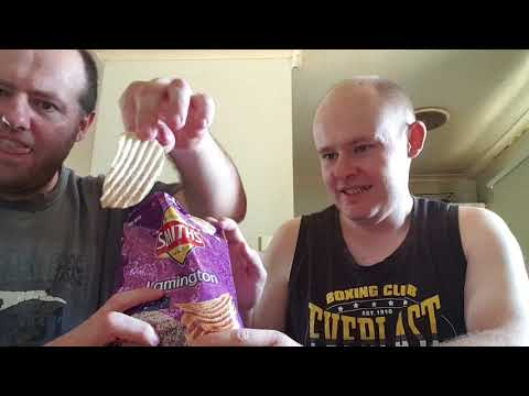 Smiths Lamington Chips Review Roger Th Pirate FT Robbo 5 Life