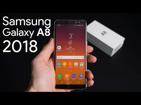 Samsung Galaxy A8 2018: unboxing and first look