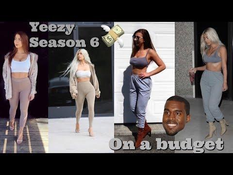 Yeezy Season 6: On A Budget
