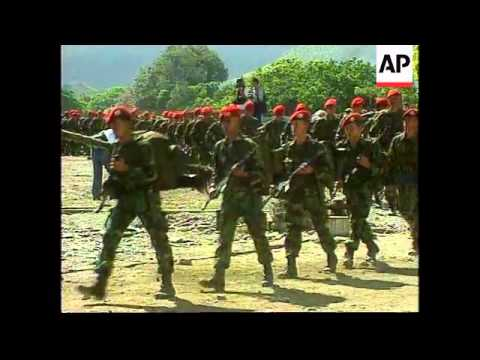 EAST TIMOR: 400 INDONESIAN SOLDIERS LEAVE TROUBLED TERRITORY (2)