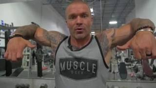 Get Wider Shoulders | How to Build Lateral Delts \ Advanced Training #12
