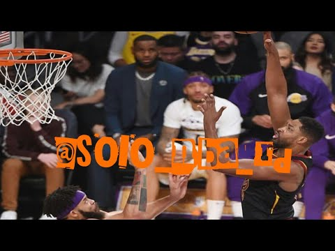 Los Angeles Lakers vs Cleveland Cavaliers Resumen del Partido Completo de la Temporada Regular NBA.