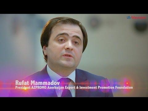 US Television - Azerbaijan - Interview with Rufat Mammadov - AZPROMO