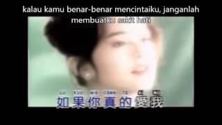 cen te ai wo ciu pu yau jang wo sang sin lirik dan terjemahan