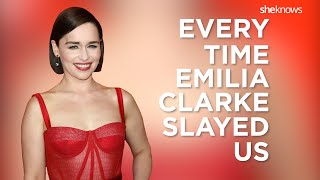 Emilia Clarke Slays Everything   Daenerys Targaryen   Game Of Thrones