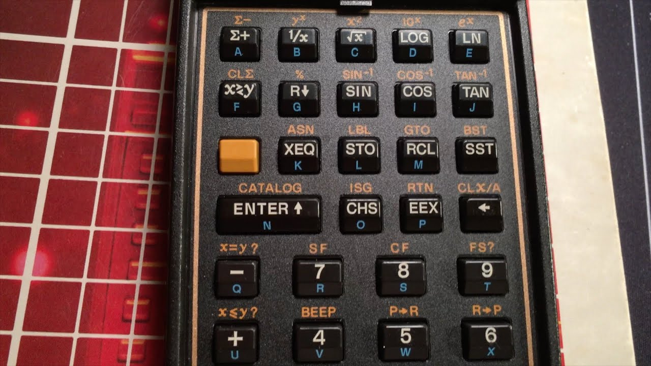 hp41-cv calculator