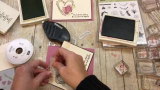 How to make a gorgous Oh So Succulent Heart Card