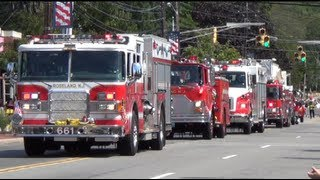Roseland Fire Department 100th Anniversary Parade.