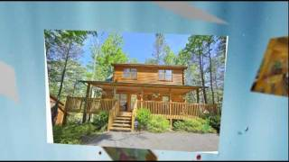 """rustic Elegance"" #422 Gatlinburg 2br Luxury Vacation Cabin Rental Near Park"