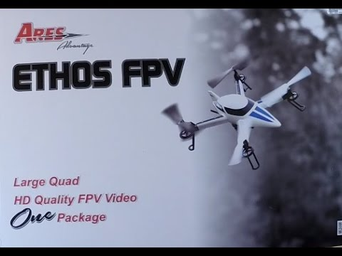 Ares Ethos FPV Unboxing & Video Test