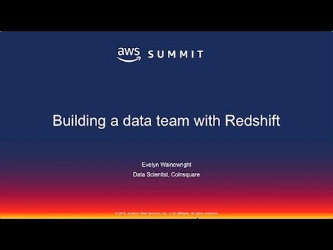 Coinsquare on Building a Data Team with Redshift